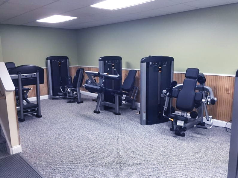 Just Got An Awesome Life Fitness Gym !!!!!!!!!
