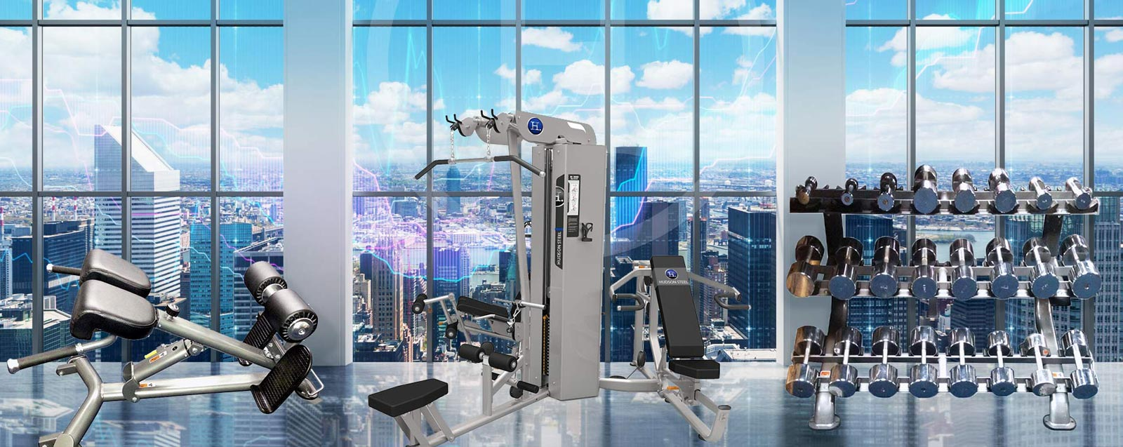 Hudson Steel Fitness Equipment - Fitness Showrooms